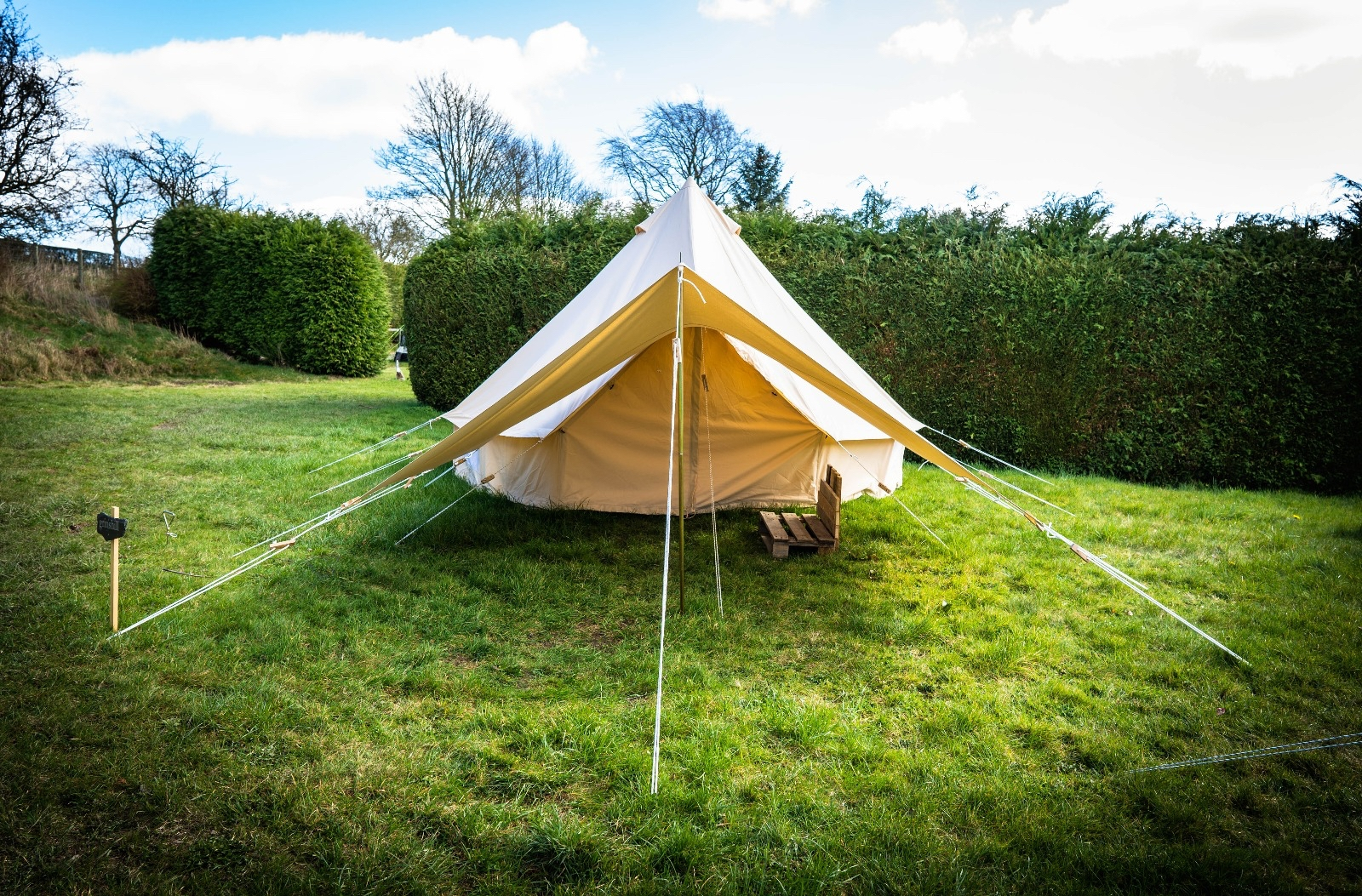 Glamping in Shropshire, Central England | The Old School ...