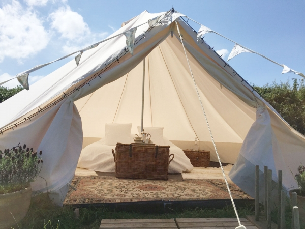 Glamping in North Cornwall, South West England   Soul Camping