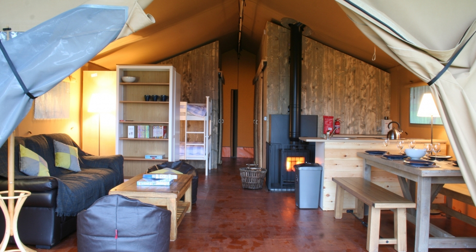 Glamping holidays in North Devon, South West England - Beara Lodge Glamping