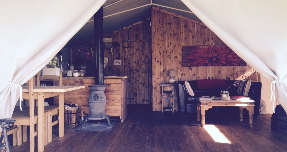 Glamping holidays in Norfolk, Eastern England - Swallow Park
