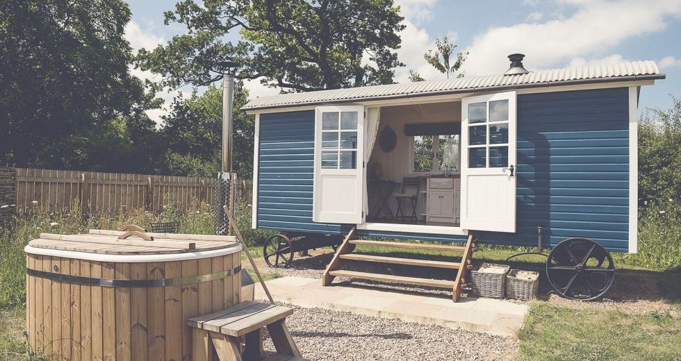 Glamping holidays in North Yorkshire, Northern England - Waingates Farm Huts