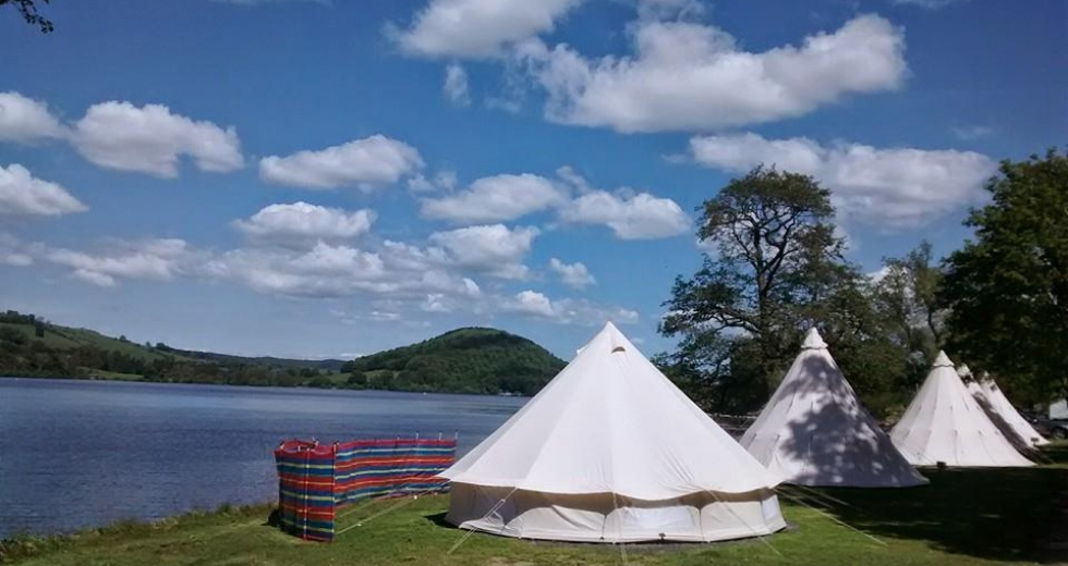 Glamping holidays in the Lake District, Cumbria, Northern England - Waterside Farm Campsite