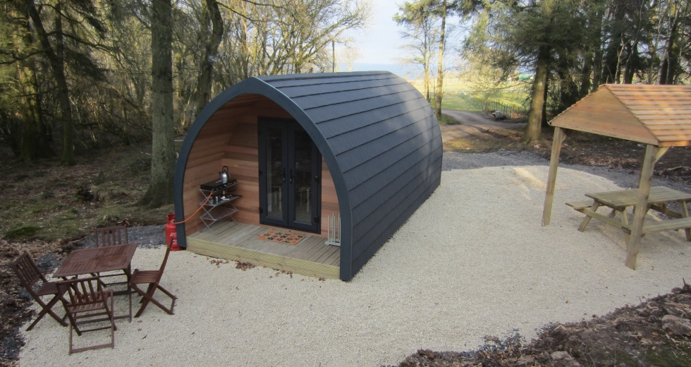 Glamping holidays in Somerset, South West England - Nettwood Farm