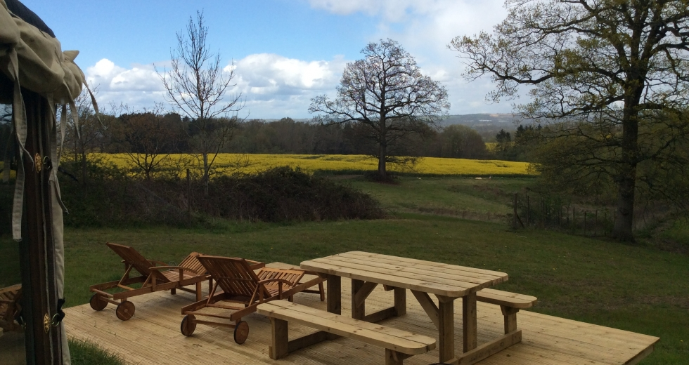 Glamping holidays in Kent, South East England - Brenchley Glamping