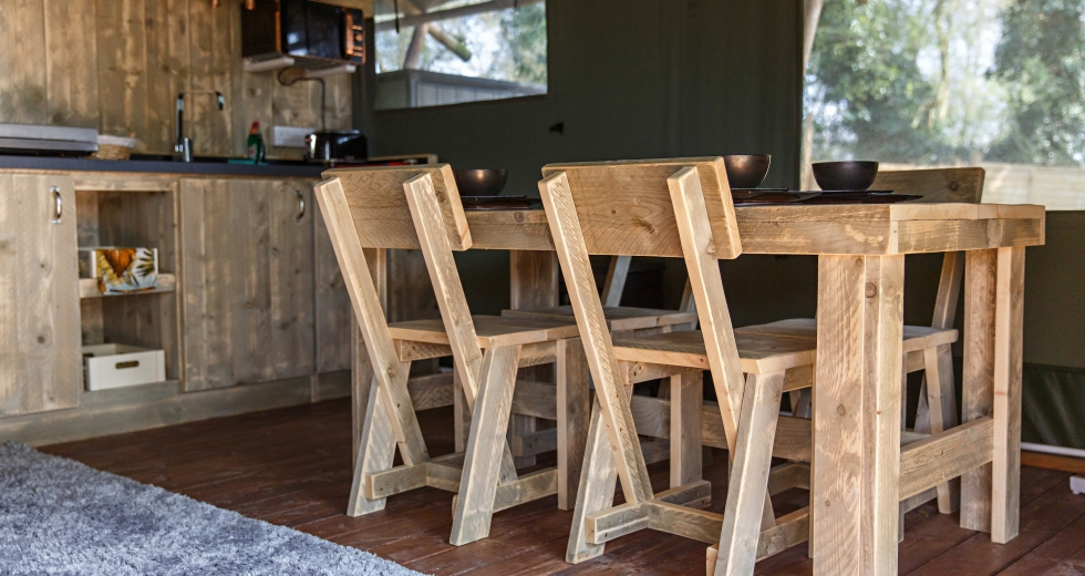 Glamping holidays in Norfolk, Eastern England - Diglea Holiday Park