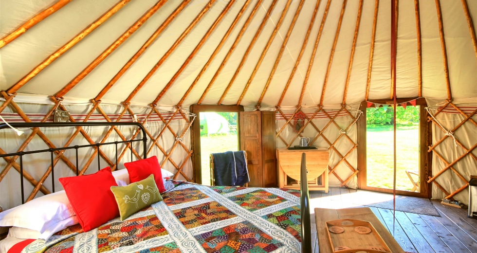 Glamping holidays in Norfolk, Eastern England - Swallowtail Holidays