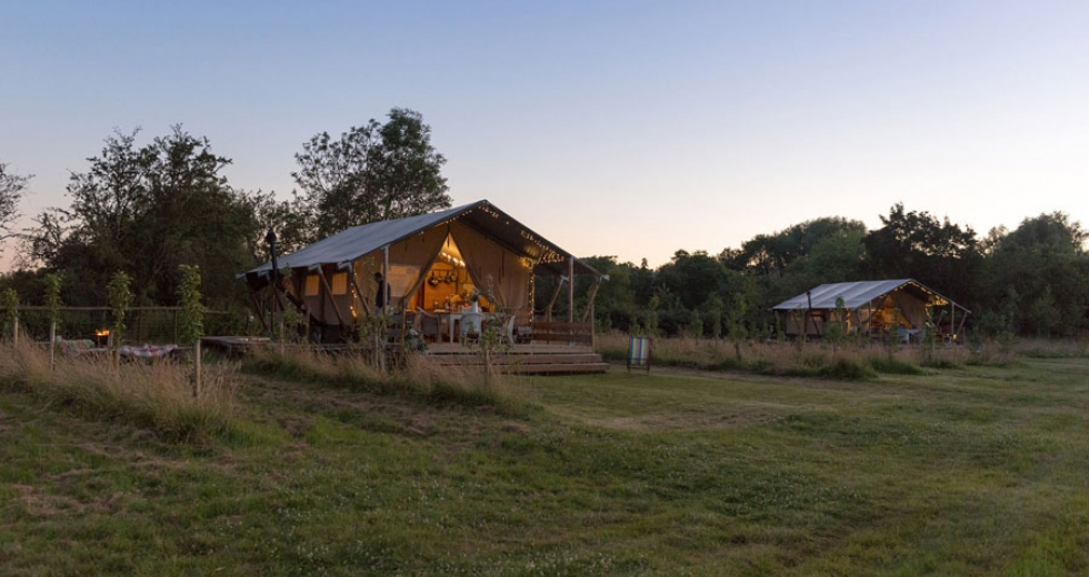 Glamping holidays in Worcestershire, Central England - Up Sticks Glamping