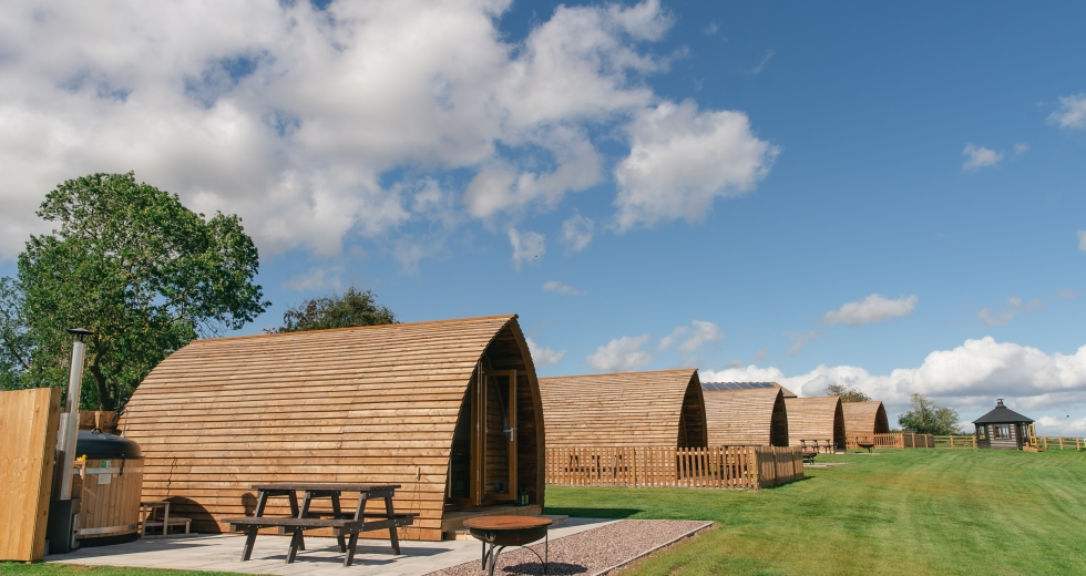 Glamping holidays in Staffordshire, Central England - Wigwam Holidays, Saxon Meadow