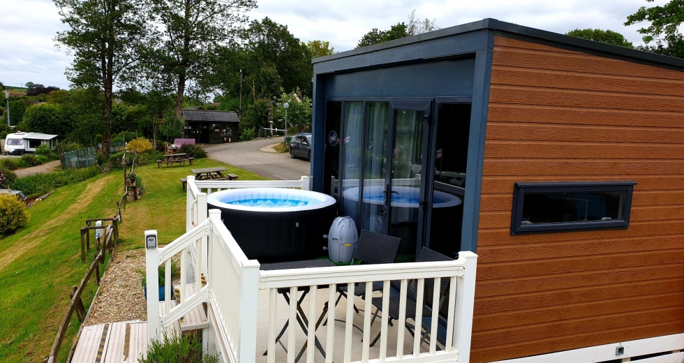 Glamping holidays in Cornwall, South West England - Pine Green Valley