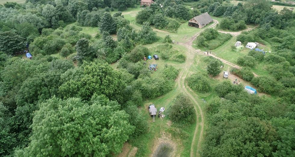 Glamping holidays in Norfolk, Eastern England - Norfolk Brickyard