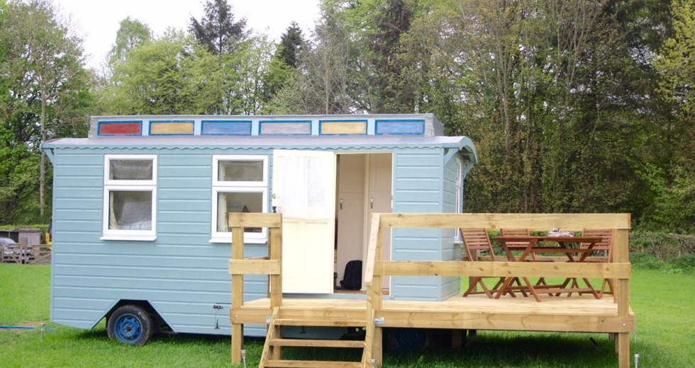 Glamping holidays in Scottish Borders, Southern Scotland - Westcote Glamping