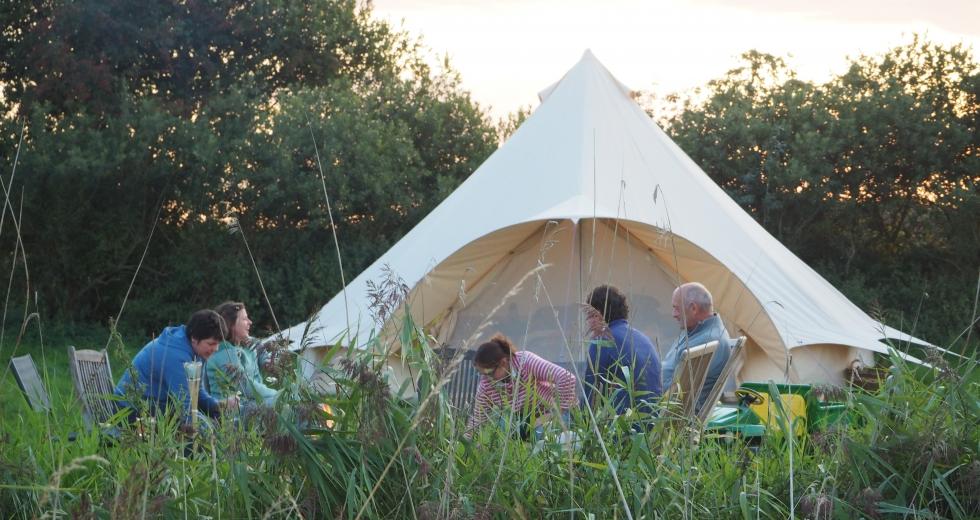 Glamping holidays in Norfolk, Eastern England - Marsh View Glamping
