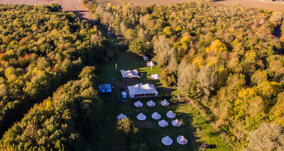 Glamping holidays in Essex, Eastern England - Tey Brook Orchard