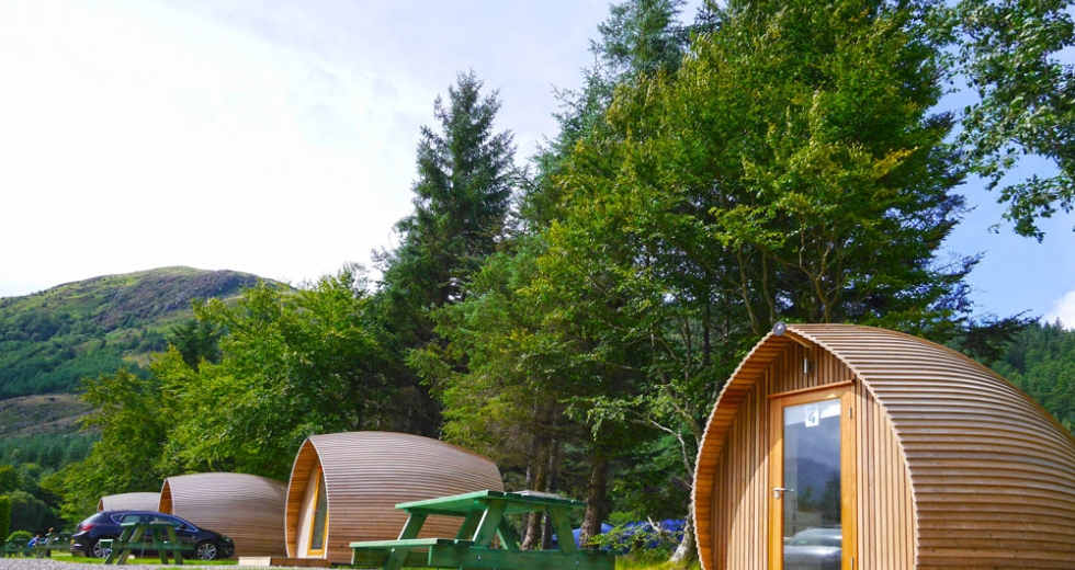 Glamping holidays in the Highlands, Northern Scotland - Glen Nevis Campsite