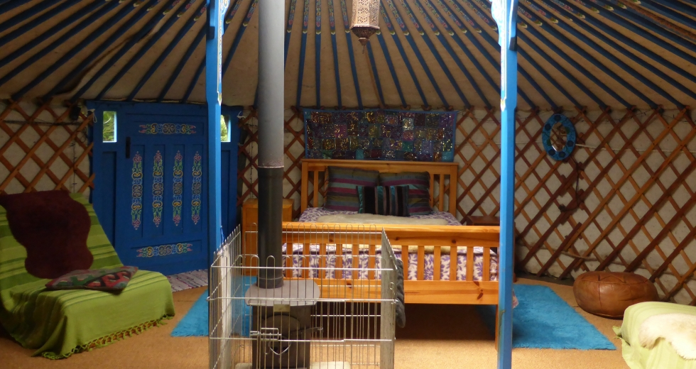 Glamping holidays on the Isle of Anglesey, North Wales - Anglesey Tipi & Yurt Holidays