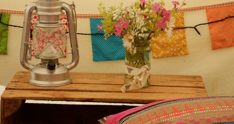 Glamping holidays in Carmarthenshire, South Wales - Cwm Ty Coed
