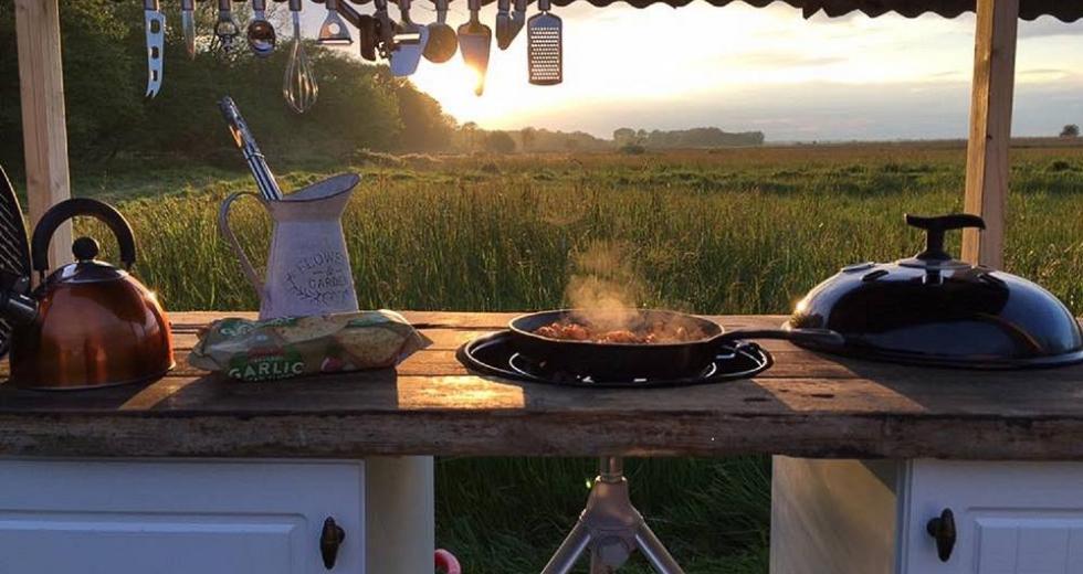 Glamping holidays in Norfolk, Eastern England - Brambells Glamping