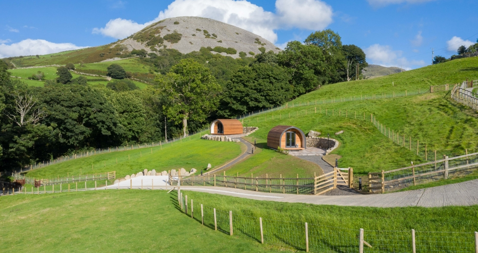 Glamping holidays near Snowdonia, Conwy, North Wales - Three Streams Glamping