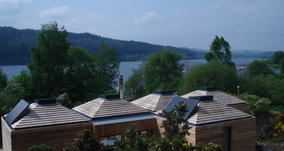 Glamping holidays in Dumfries & Galloway, Southern Scotland - Loch Ken Eco Bothies