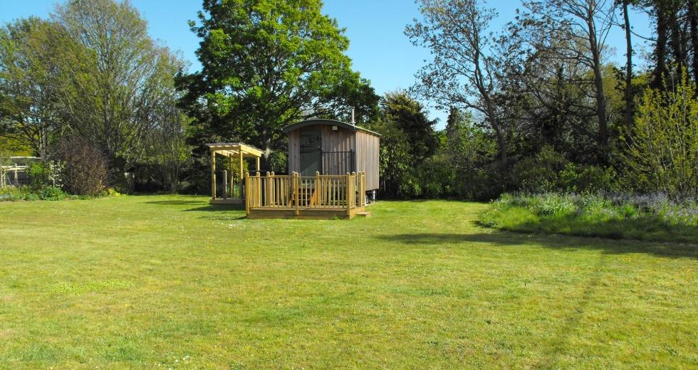 Glamping holidays in Suffolk, Eastern England - Rondebosch Shepherds Hut