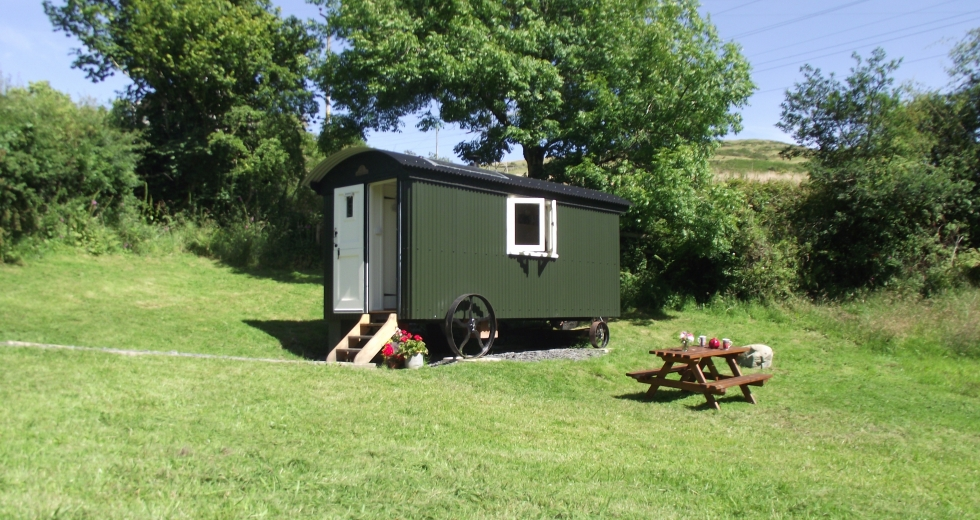 Glamping holidays in the Lake District, Cumbria, Northern England - Hut in the Sheep Wash