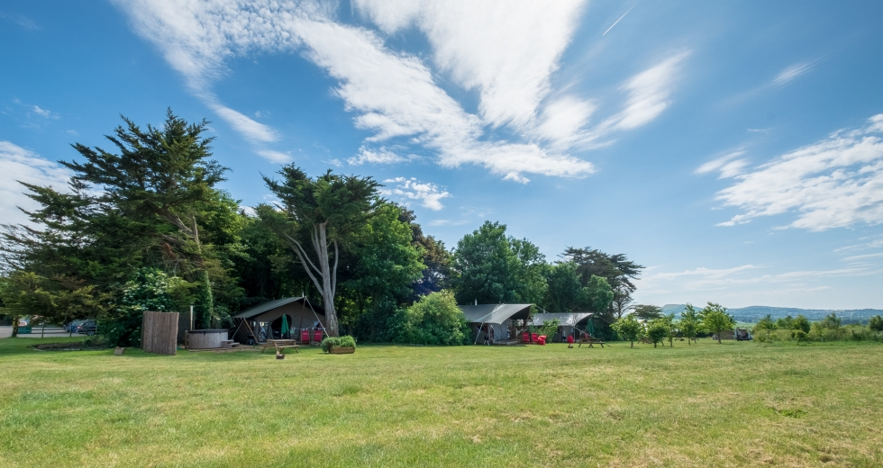 Glamping holidays in Isle of Wight, South East England - Tom's Eco Lodge