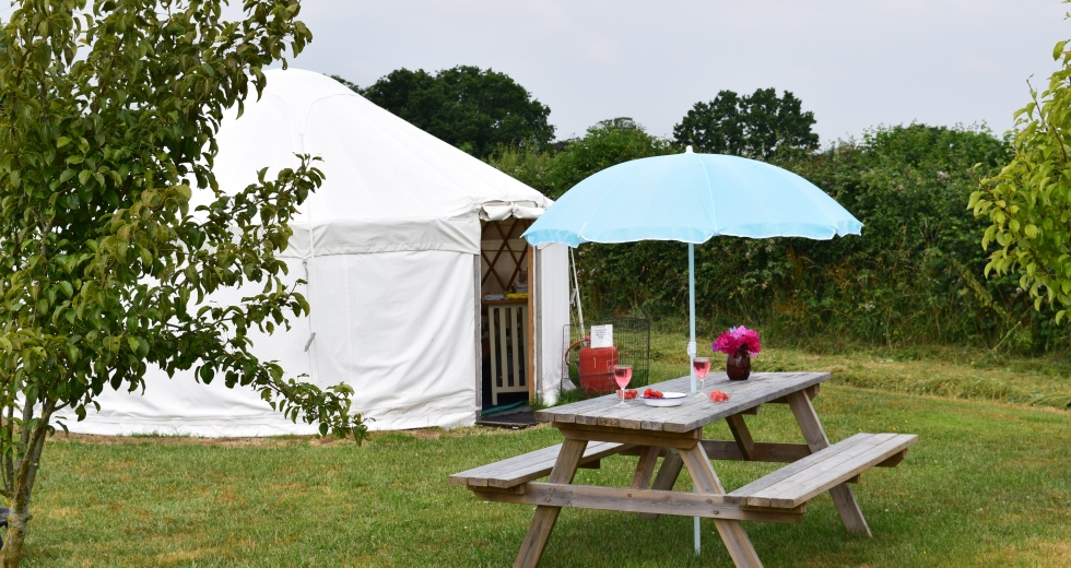 Glamping holidays in Dorset, South West England - Sockety Farm Yurts