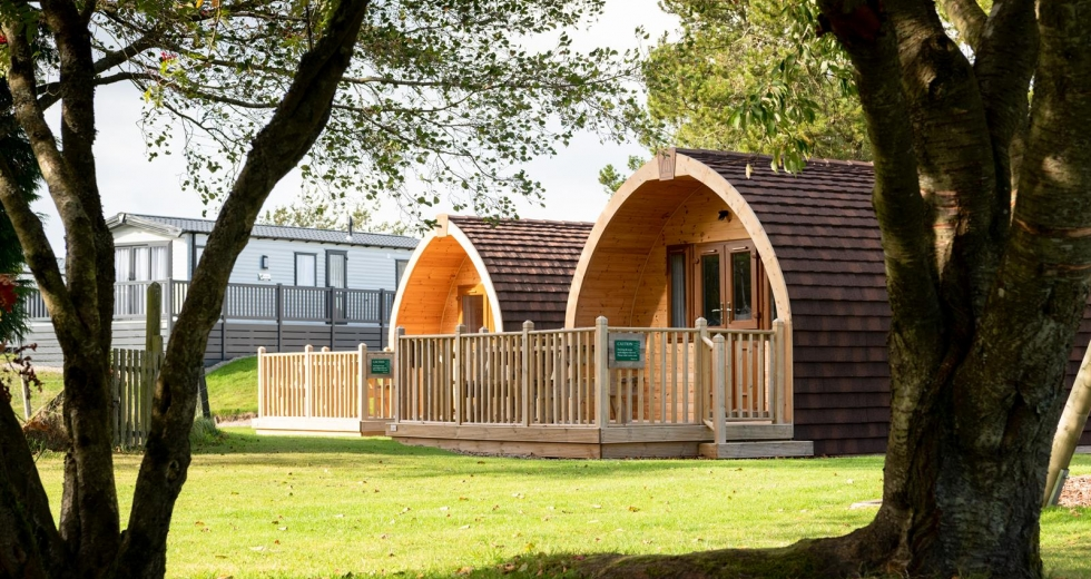 Glamping holidays in Aberdeenshire, Northern Scotland - Deeside Holiday Park
