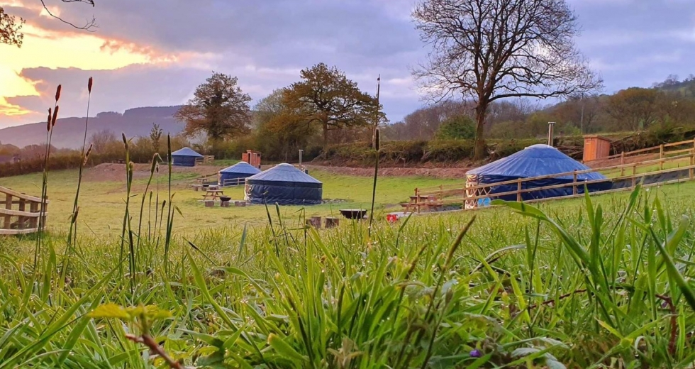 Glamping holidays in Carmarthenshire, South Wales - Brechfa Glamping