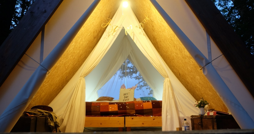 Glamping holidays in Hampshire, South East England - The Glade
