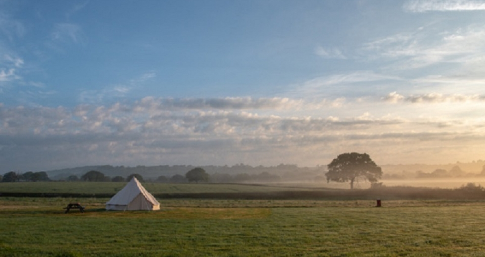 Glamping holidays in Dorset, South West England - Old Bidlake Farm