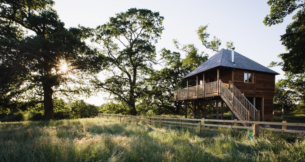 Glamping holidays in near the Lake District, Cumbria, Northern England - Netherby Estate
