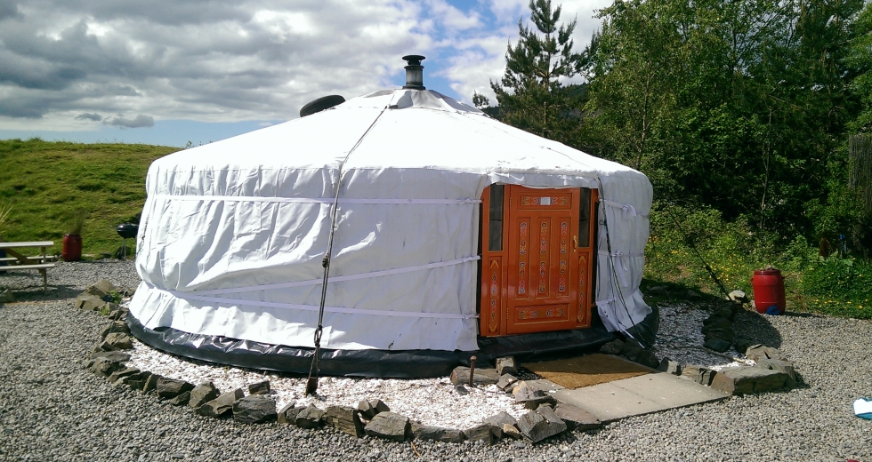 Glamping holidays in Dumfries & Galloway, Southern Scotland - Galloway Activity Centre Yurts