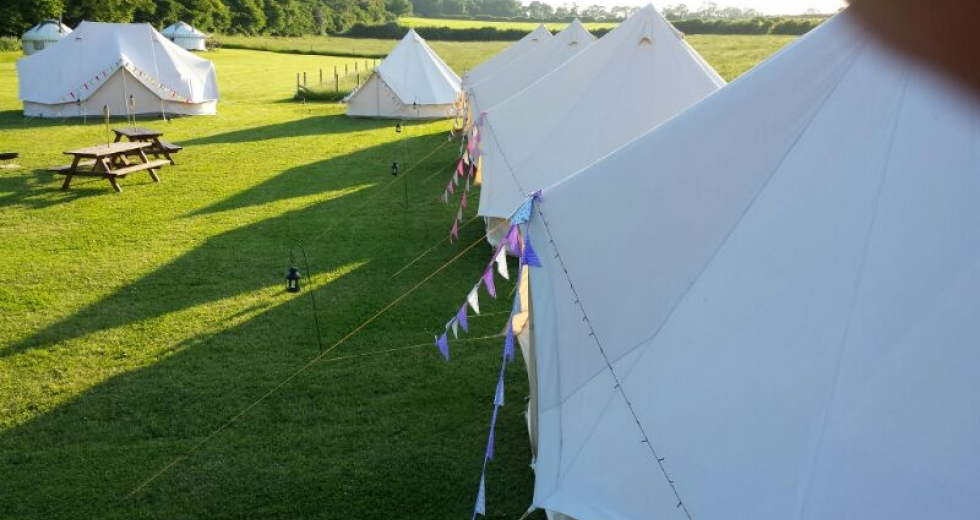 Glamping holidays in Dorset, South West England - Home Farm Camping