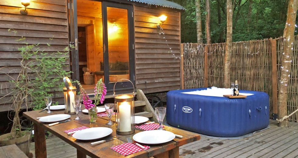 Glamping holidays in Isle of Wight, South East England - The Shepherd's Hideaway