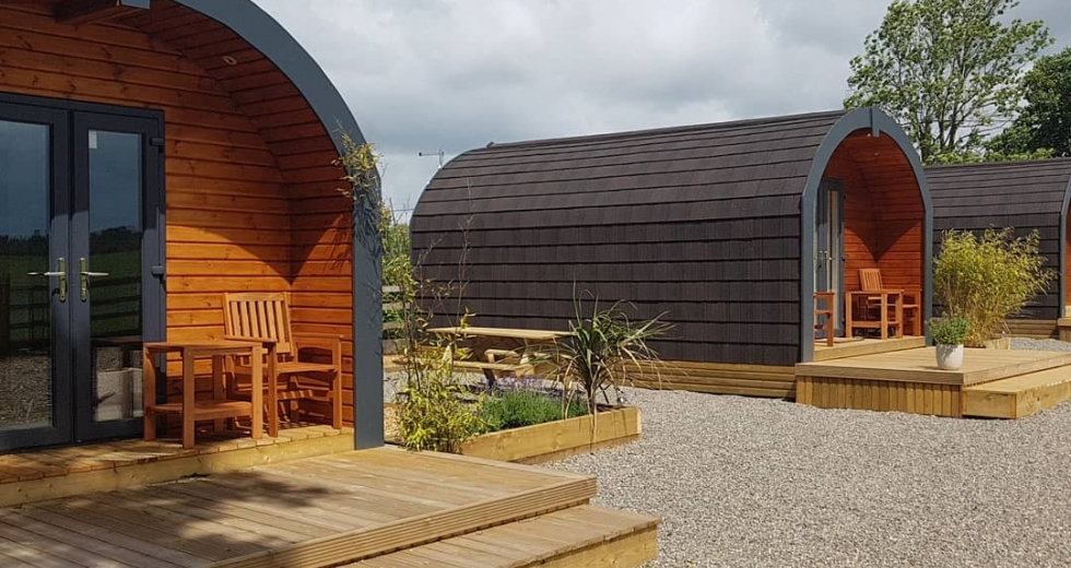 Glamping holidays near the Lake District, Cumbria, Northern England - Headswood on the Wall