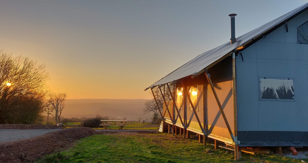 Glamping holidays in Carmarthenshire, South Wales - Gelli Glamping