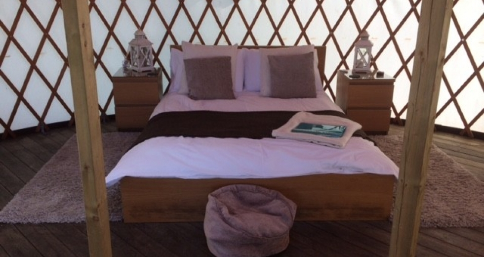 Glamping on the Isle of Anglesey, North Wales - Anglesey Yurt Holidays