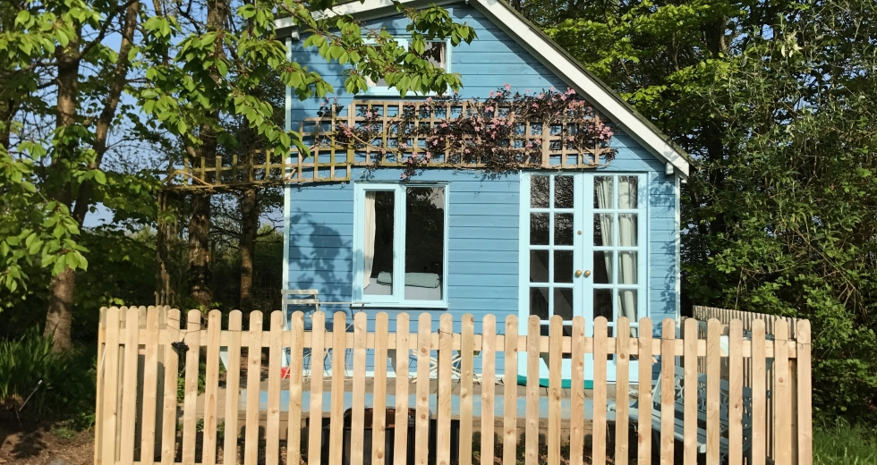 Glamping holidays in Devon, South West England - Bales Ash Campsite