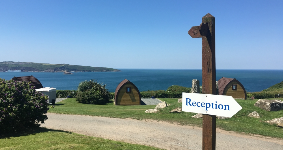 Glamping holidays in Pembrokeshire, South Wales - Fishguard Bay Resort