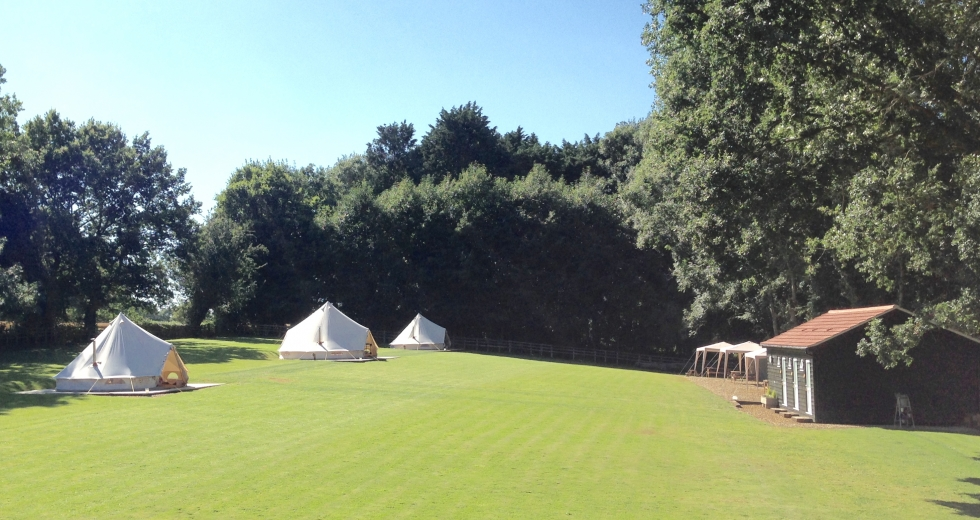 Glamping holidays in Norfolk, Eastern England - Keepers Meadow