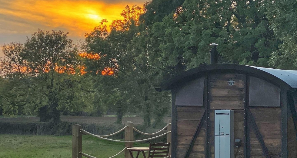 Glamping holidays in Norfolk, Eastern England - Choo Choo Moo