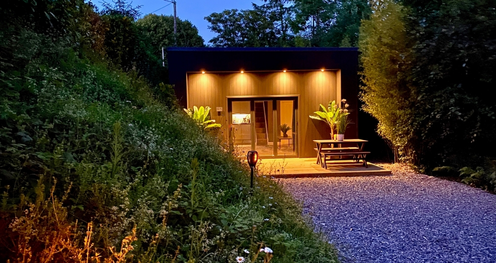 Glamping holidays in Devon, South West England - Sunridge Cubes
