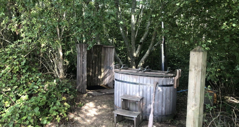 Glamping holidays in Kent, South East England - Hedgehog Hall