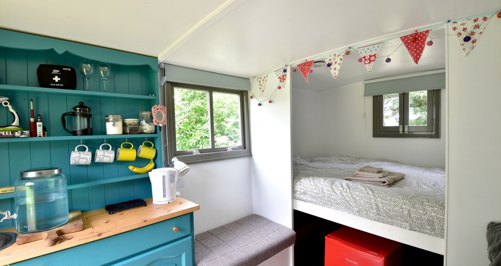 Glamping holidays in Nottinghamshire, Central England - Little Oak Camping