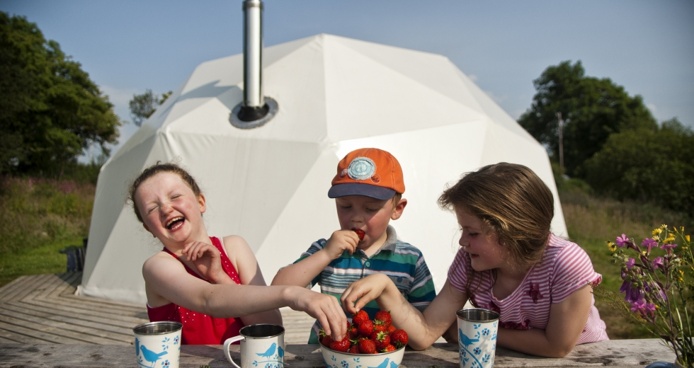 Glamping holidays near Snowdonia, North Wales - Away From It All