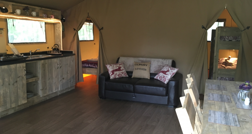 Glamping holidays in West Sussex, South East England - Worth Forest Glamping