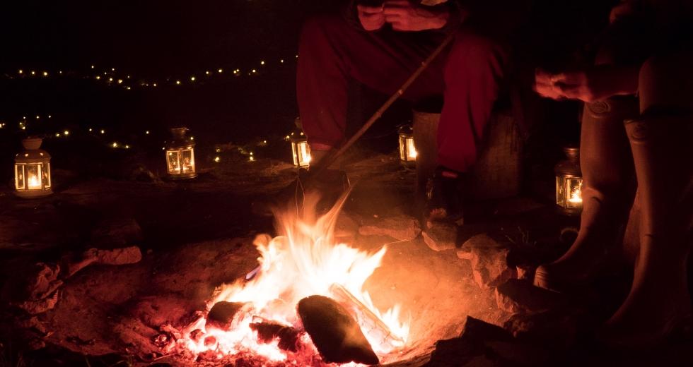 Glamping holidays in Herefordshire, Central England - Woodland Tipi & Yurt Holidays