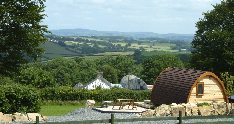 Glamping holidays in Ceredigion, West Wales - Winllan Farm Holidays