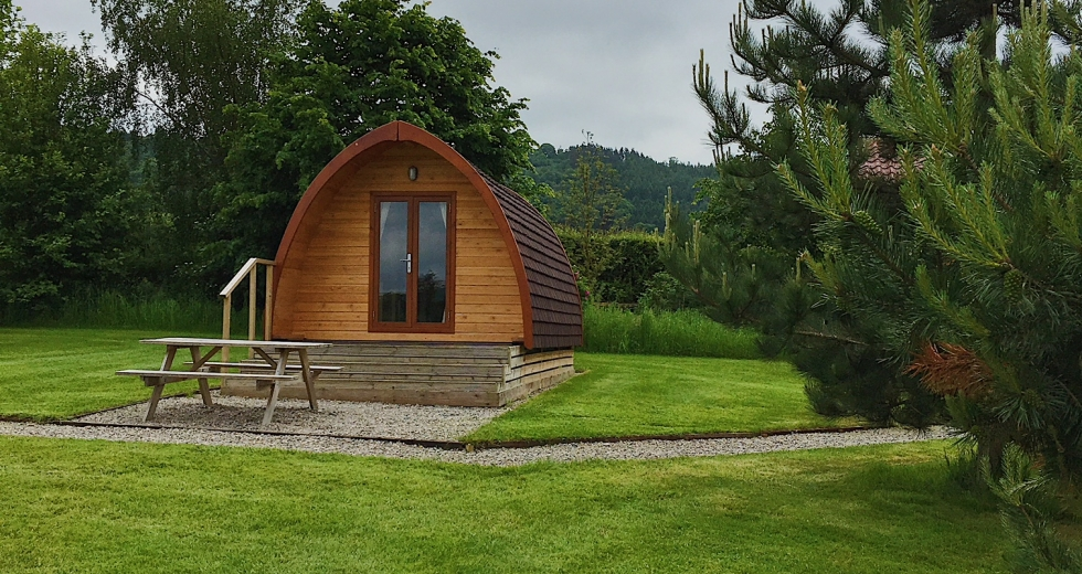 Glamping holidays in North Yorkshire, Northern England - Hillside Caravan Park
